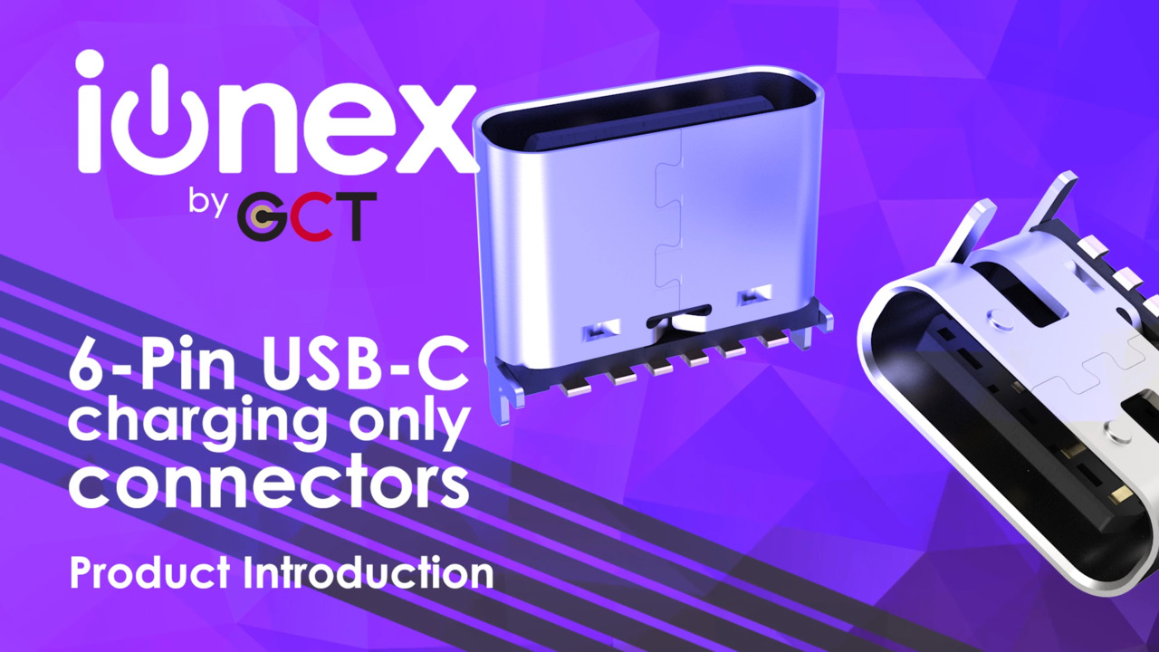 Ionex - charge only connectors
