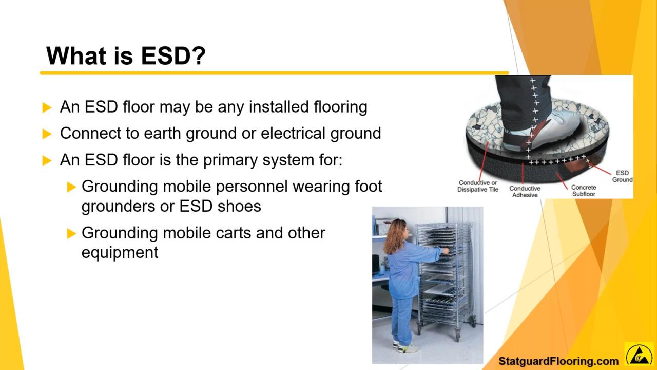 Understanding ESD Flooring