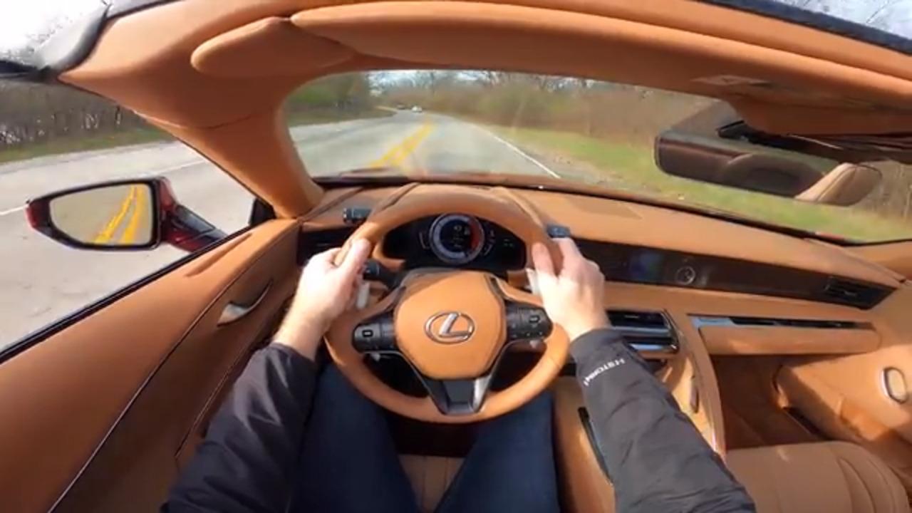Video: 2021 Lexus LC 500 Convertible: Virtual Test Drive — Cars.com