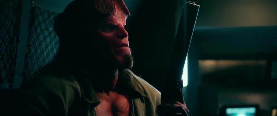 Play trailer for Hellboy