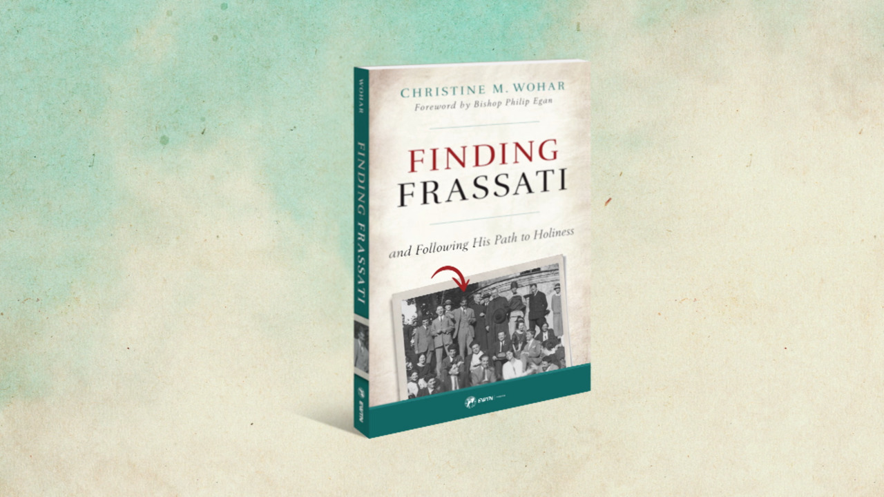 Finding Frassati and Following His Path To Holiness Book Trailer