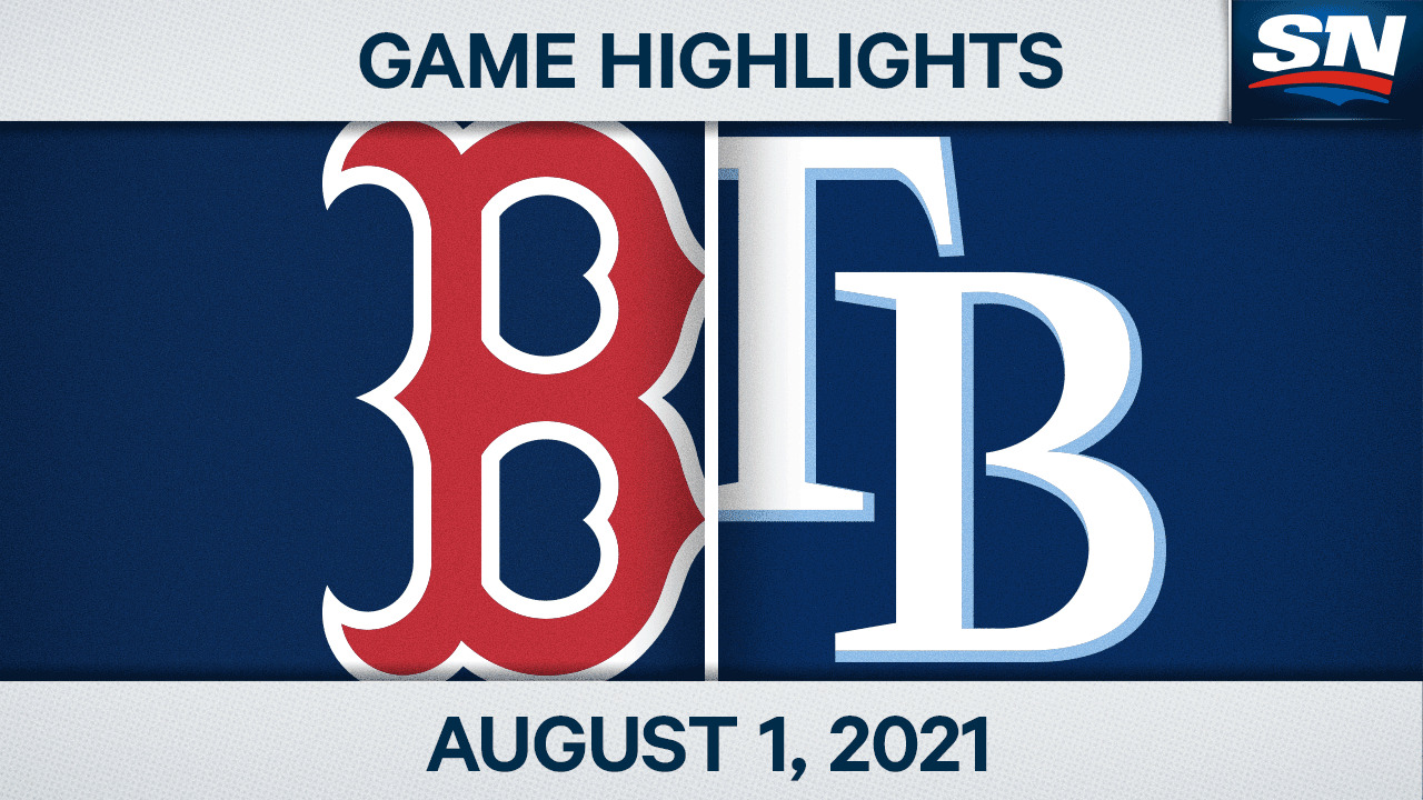 Highlights: Rays 3, Red Sox 2