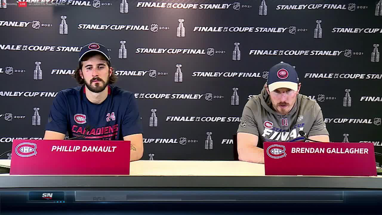 Gallagher says Canadiens won't quit, win Game 4 and go from there