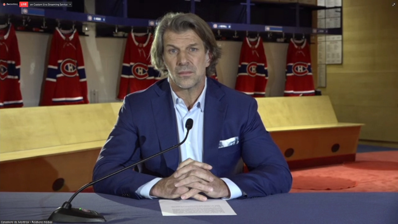 Bergevin addresses controversial Canadiens' choice to recruit Mailloux