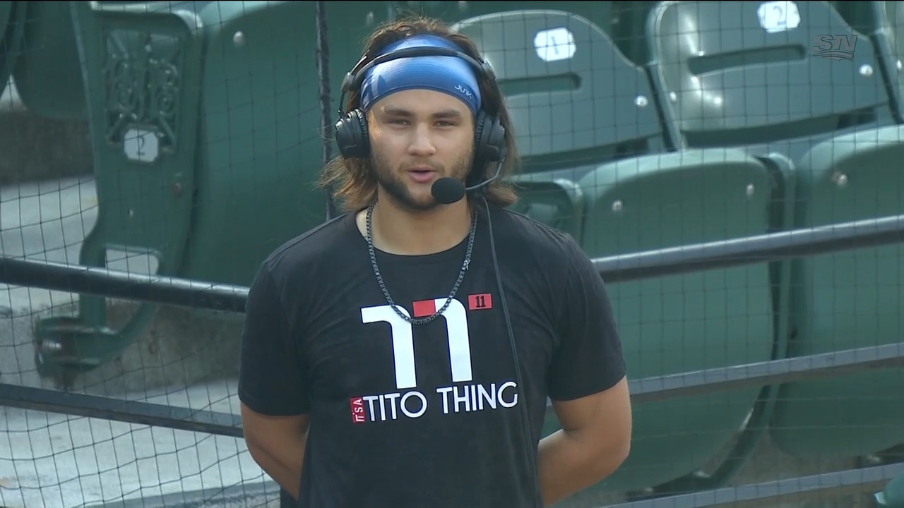 Bichette is more comfortable in the batter's box after making adjustments.