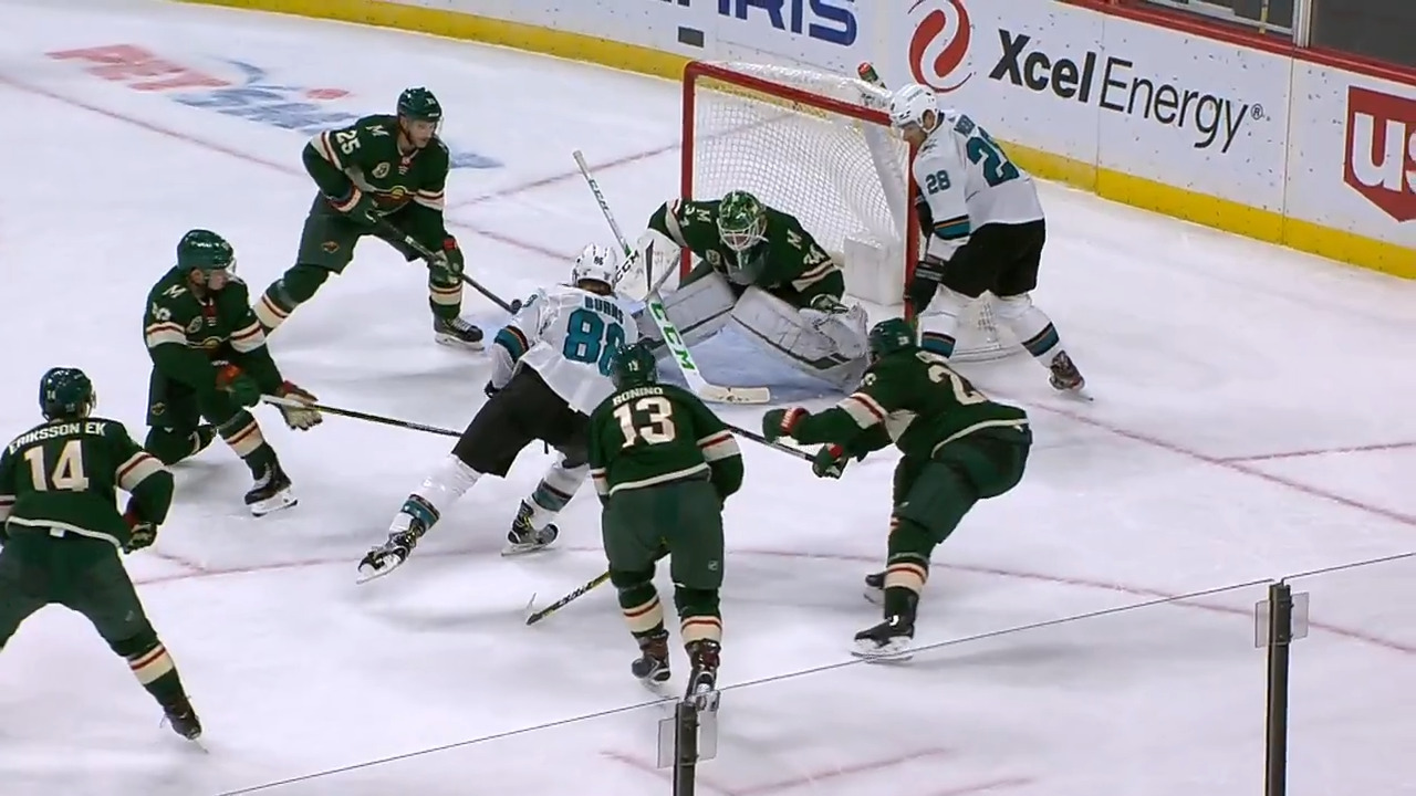 Gotta See It: Burns dangles through five Wild players before roofing puck – Sportsnet.ca