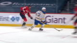 Chara records first point with the Capitals on Vrana's goal