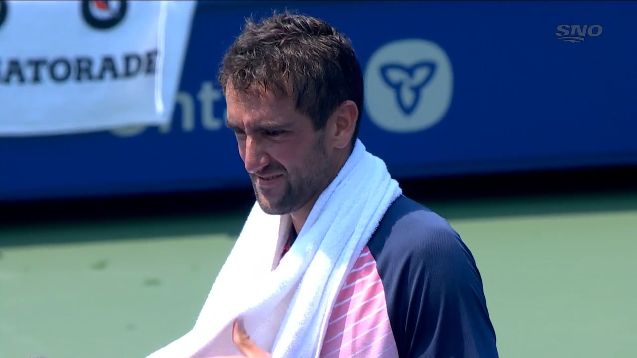 Cilic reflects on the victory over Ramos-Viñolas in 'brutal conditions'