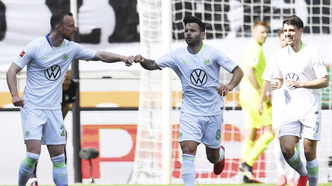 FC Augsburg 1, VfL Wolfsburg 2