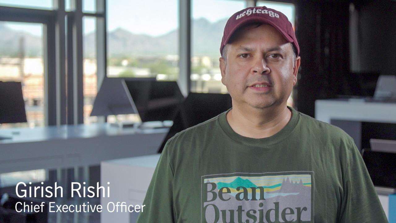Video message from Girish