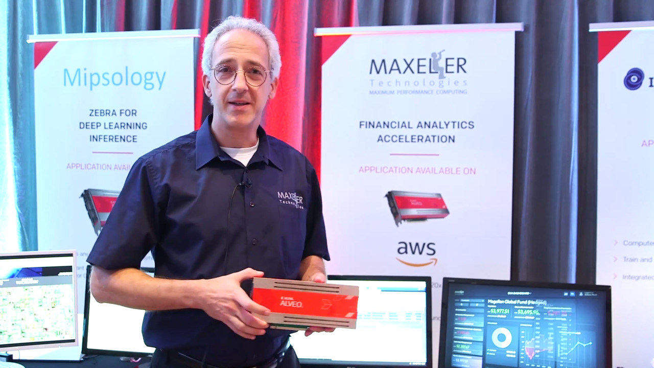 Maxeler Demonstrates Real Time Risk on Xilinx Alveo