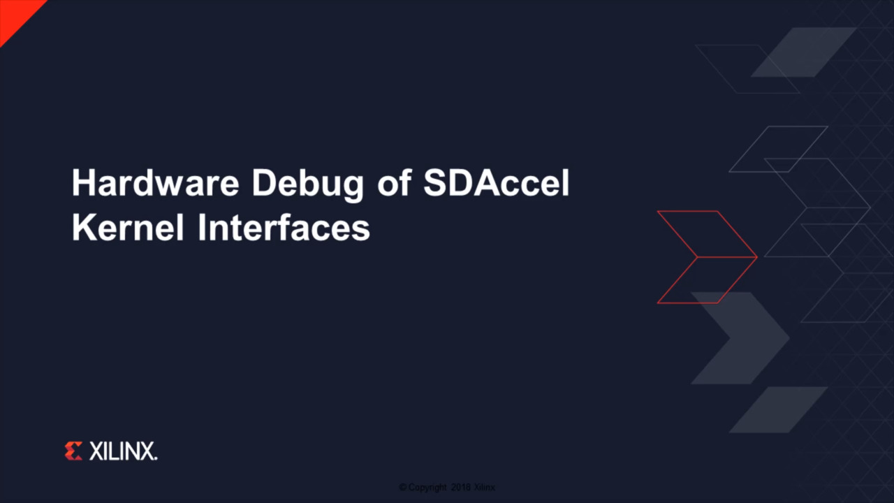 5dd077933c46fa Developing on AWS F1 with SDAccel and RTL Kernels - Part 3 of 4