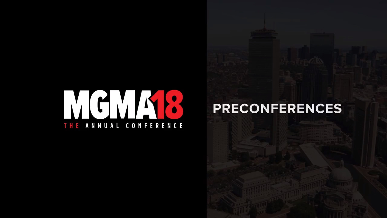 Mgma18 The Annual Conference