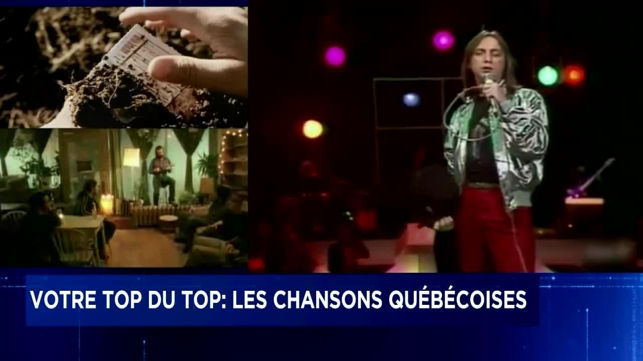 Meilleures chansons québécoises de tous les temps