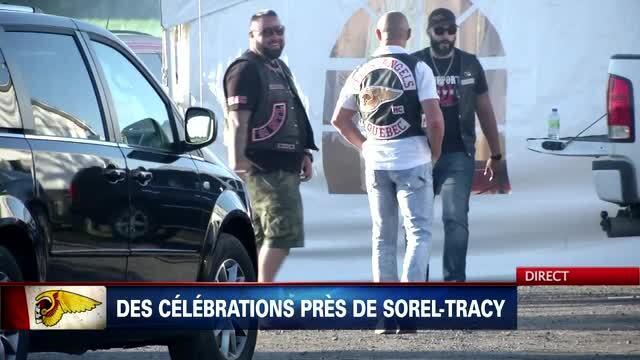 Gros party des Hells Angels à Saint-Robert | TVA Nouvelles