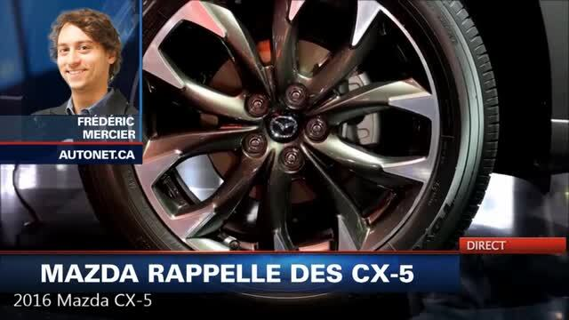 Procède Au Rappel Cx Nouvelles Mazda Des 5Tva nP8O0wkX