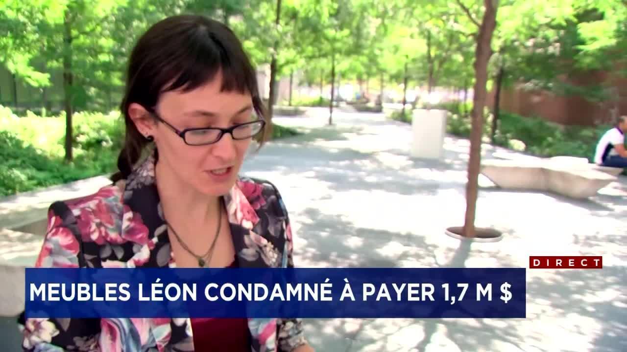 Meubles Leon Condamne A Payer 1 7 Million Tva Nouvelles