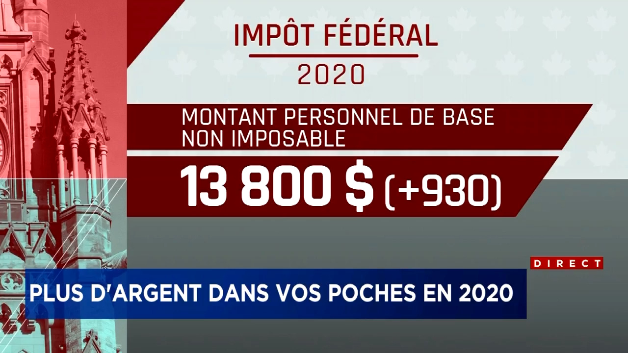 calcul impot salaire quebec 2020