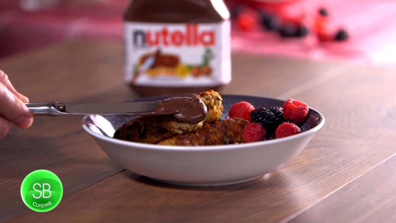 Pain Perdu Au Nutella pain perdu aux noisettes et nutella   salut bonjour