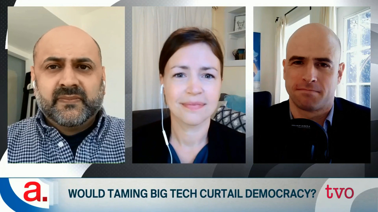 Would Taming Big Tech Curtail Democracy?