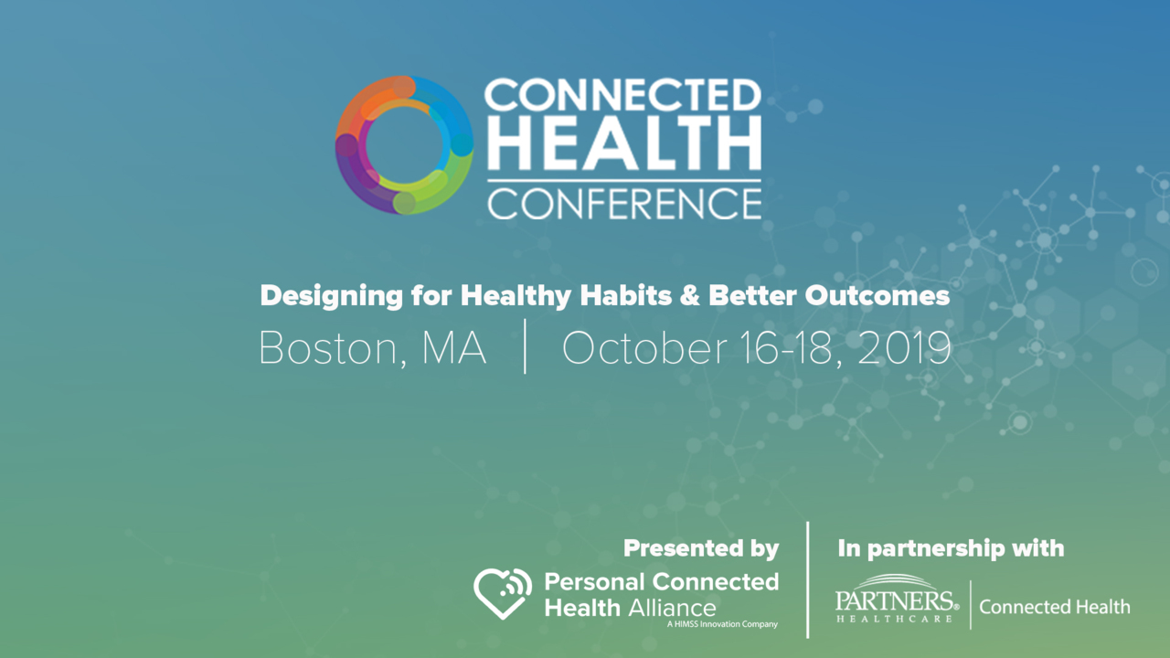Boston 2019 | Connected Health Conference
