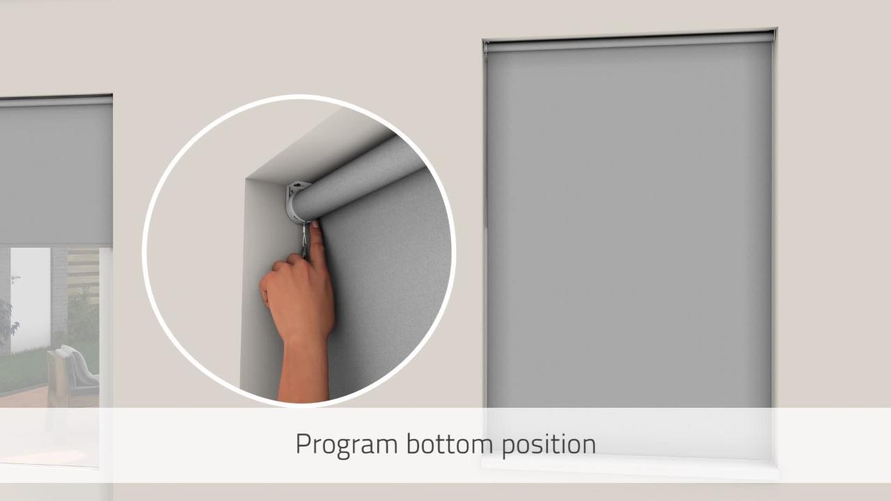 Cocoon By Coulisse Cut To Size Slate Cordless Blackout Fabric Motorized Roller Shade 29 In W X 72 In L 2010257 The Home Depot