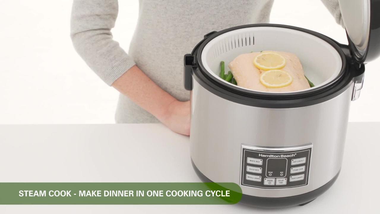 Rice Cooker Demo