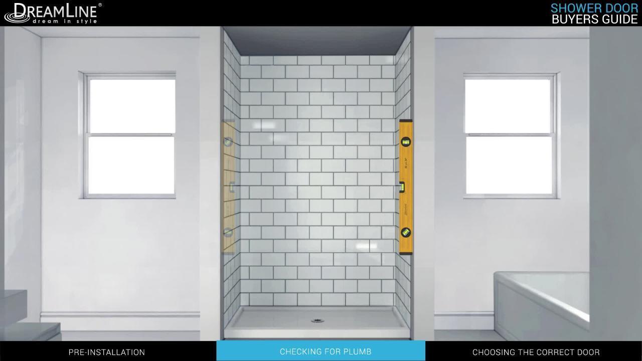 Dreamline Unidoor X 66 To 66 5 In X 72 In Frameless Hinged Shower Door In Brushed Nickel D1303072 04 The Home Depot