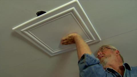 Reviews For A La Maison Ceilings Line Art 1 6 Ft X 1 6 Ft Glue Up Foam Ceiling Tile In Plain White 21 6 Sq Ft Case R24pw 8 The Home Depot