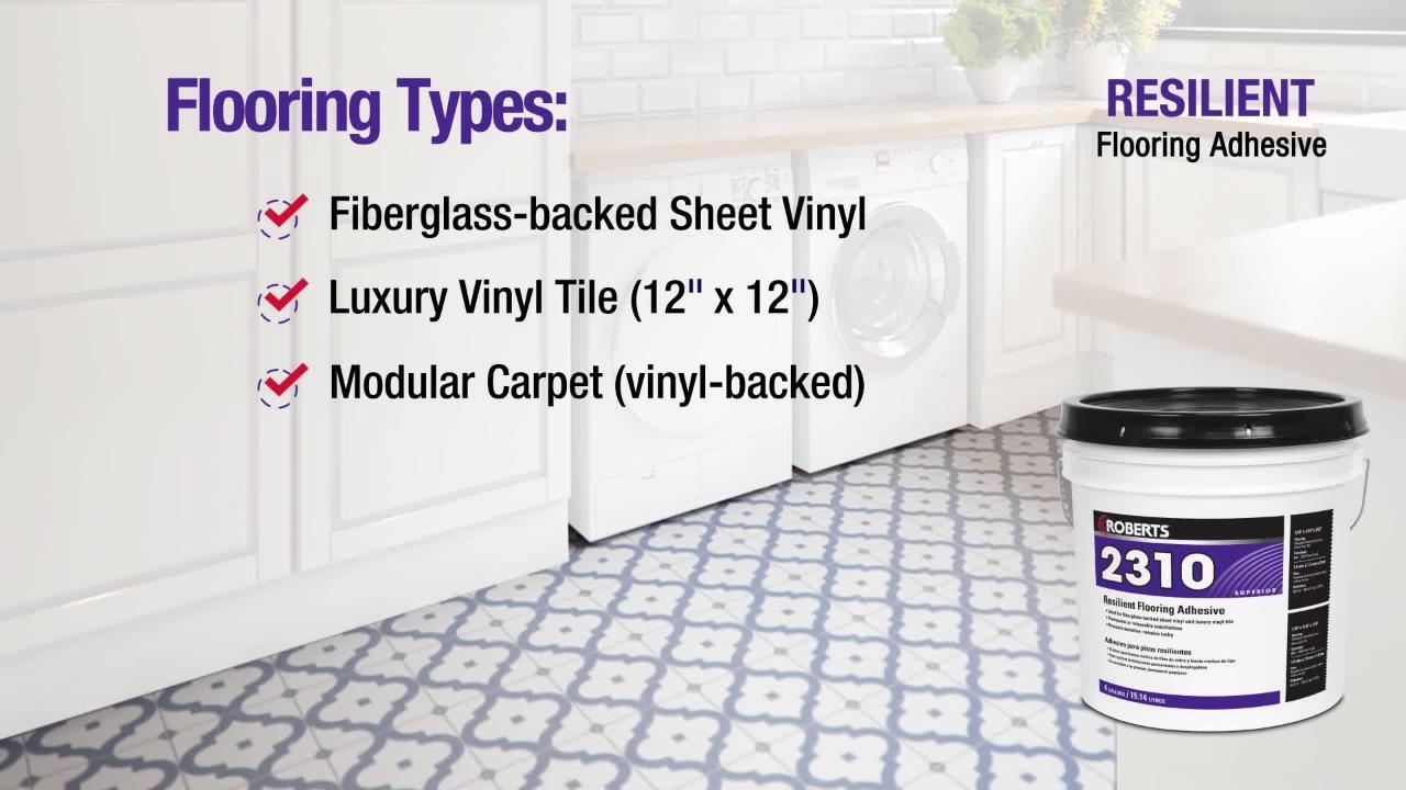Roberts 2310 1 Gal Resilient Flooring