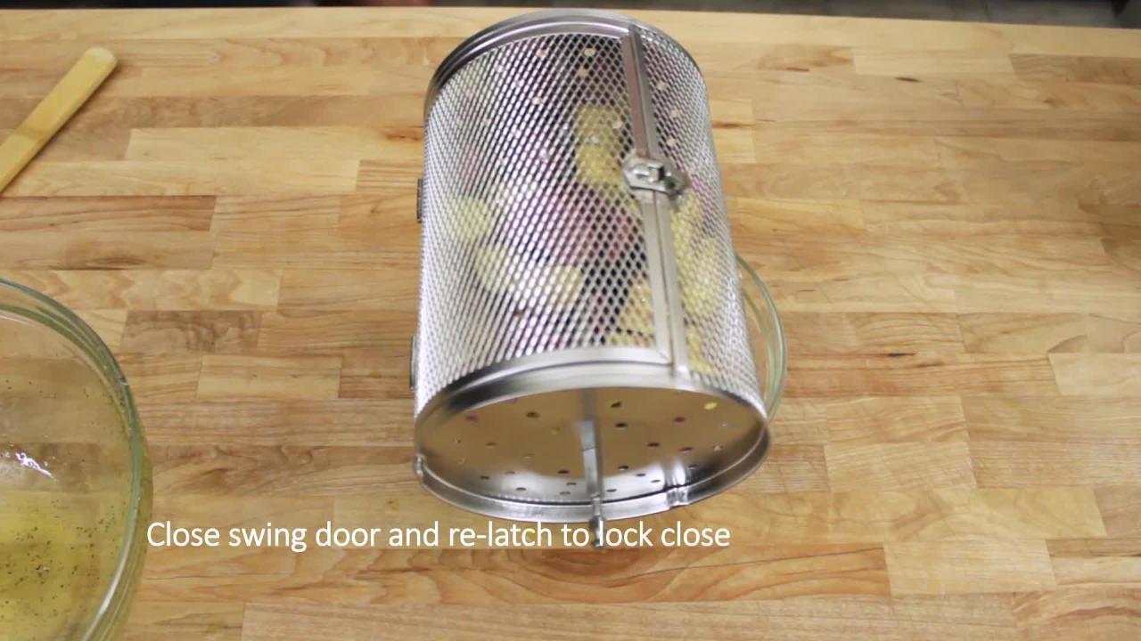 Rotisserie Oven Demo