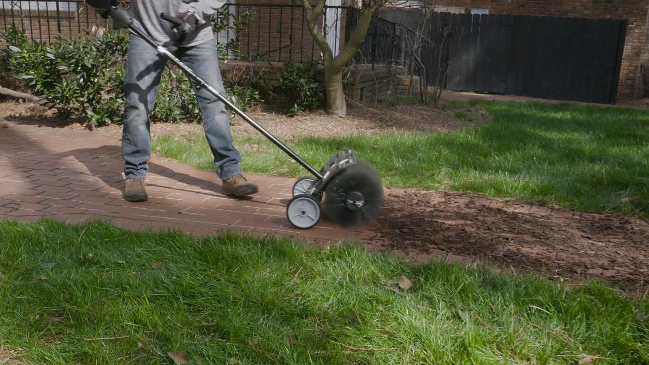 RYSWP25 RYOBI Expand-It Sweeper Attachment with Adjustable and Removable Wheels
