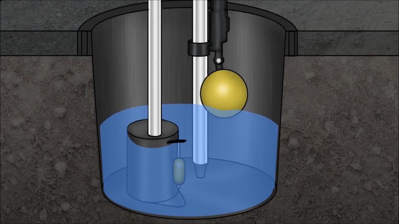 High Volume Bucket Pump Assembly