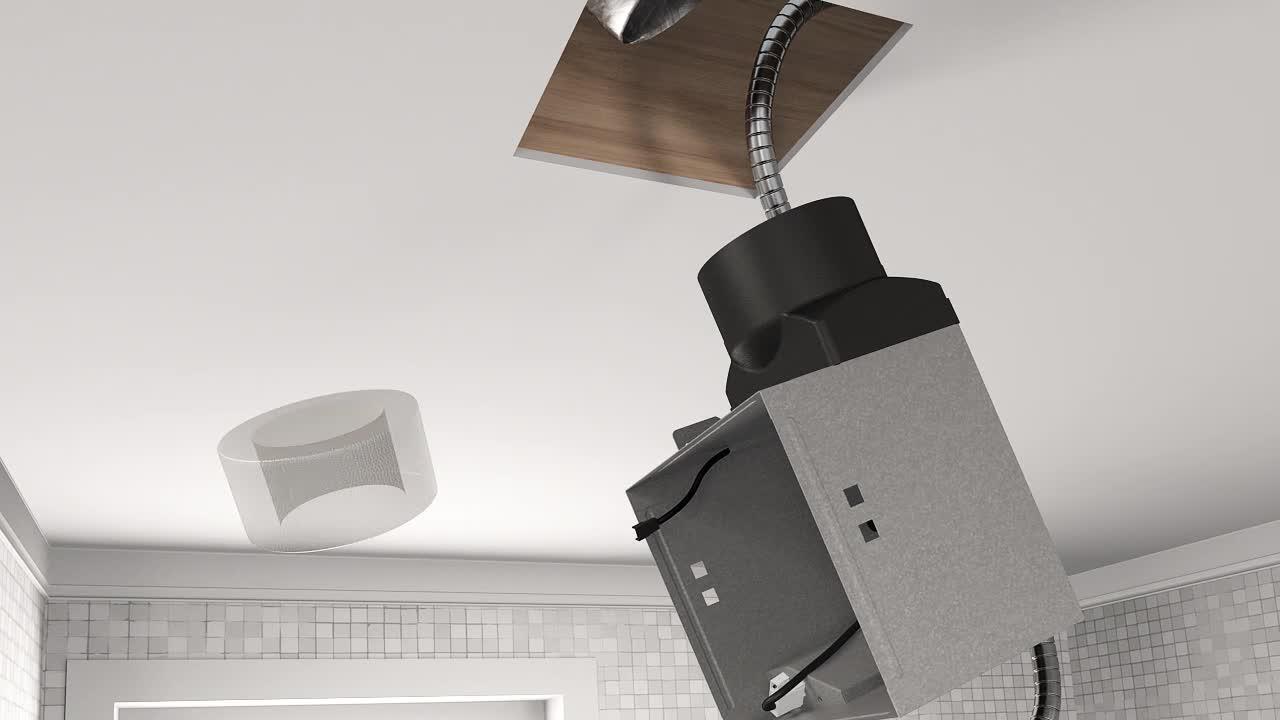 Kitchen Bathroom Wall Extractor Fan 100mm Awenta LINEA Ventilation Three Colors
