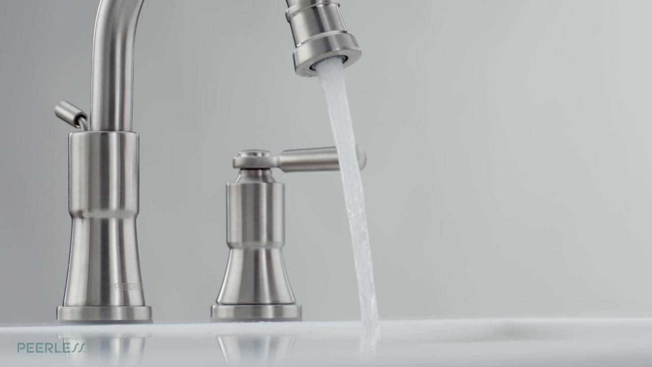westchester 8 in widespread 2 handle bathroom faucet in chrome