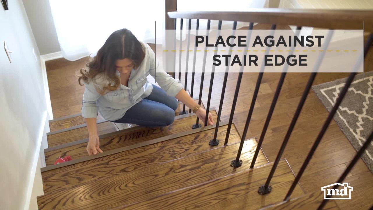 Four Pack M-D Building Products 29702 36-Inch Vinyl Stair Edging Black