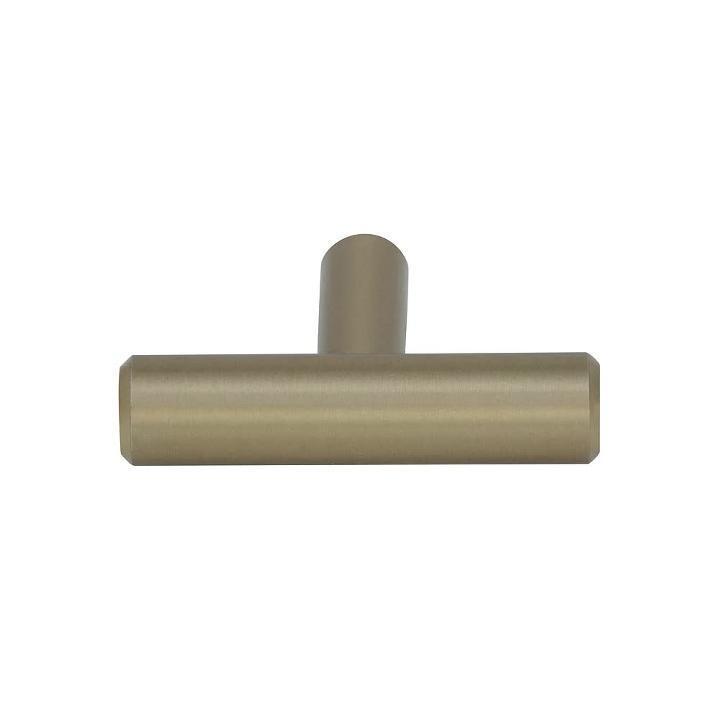 Amerock Bar Pulls 11516 in 49 mm Golden Champagne TShaped