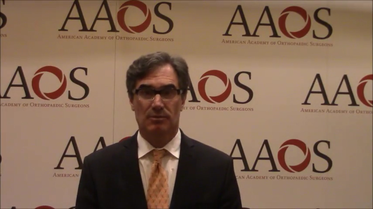 VIDEO: Patient education is critical to reduce opioid use in patients who undergo arthroscopic meniscectomy