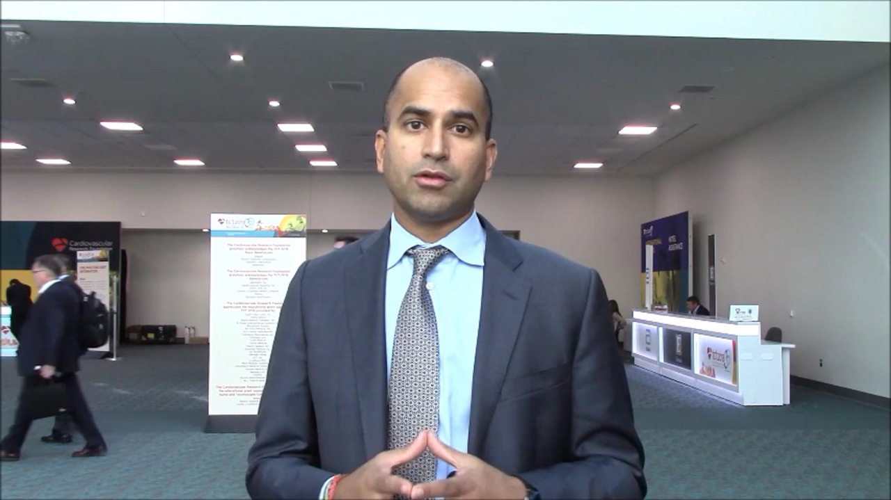 VIDEO: Ajay Kirtane, MD, SM, shares highlights from TCT 2018