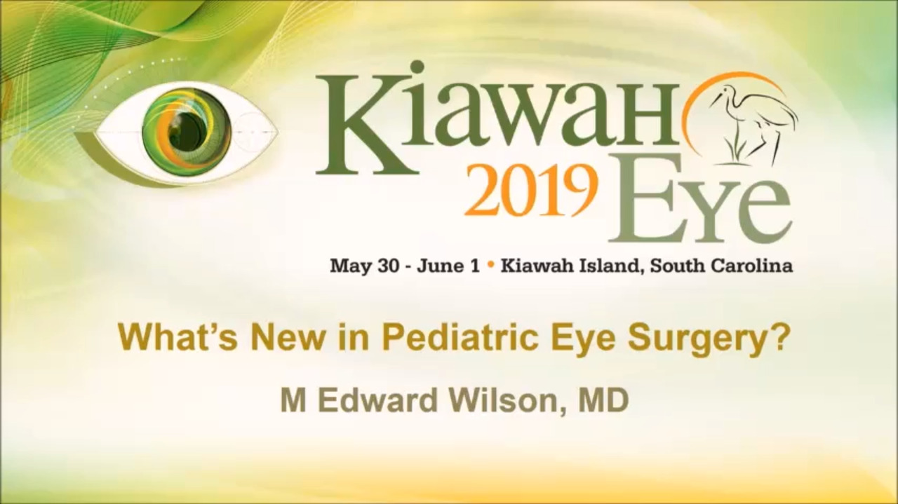 VIDEO: Pediatric cataract management depends on child's age