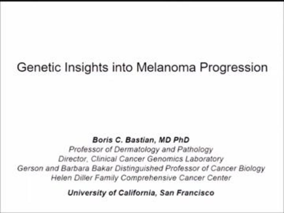Melanoma Skin Cancer Video