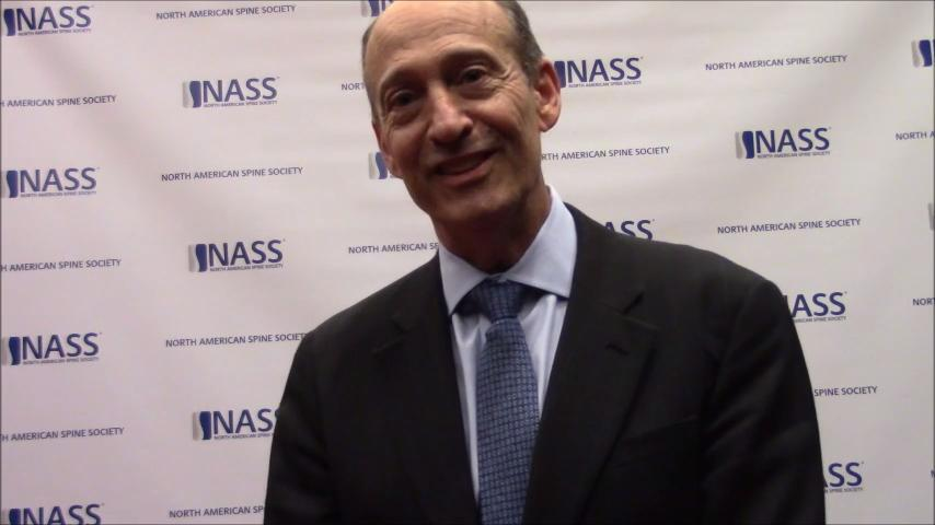VIDEO: Wildman speaks to DePuy Synthes Spine's announcements made at NASS