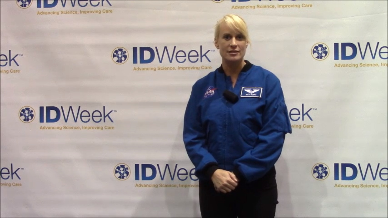 VIDEO: Infectious diseases can follow you to space