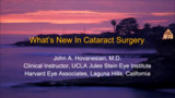 VIDEO: Cataract surgeons focus on dry eye, reduced drops, new IOLs
