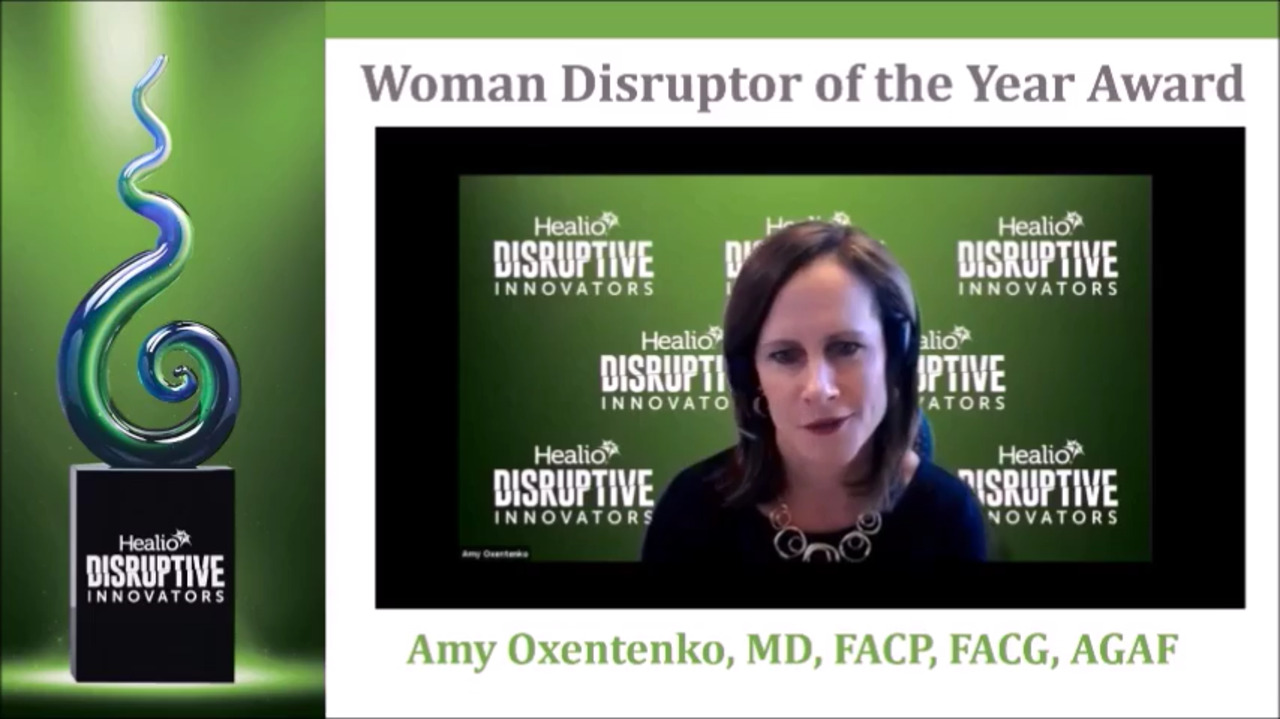 The Healio Woman Disruptor of the Year is ...