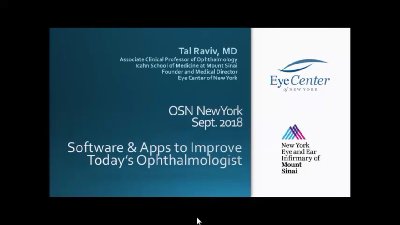VIDEO: Software and apps to improve today's cataract surgeon