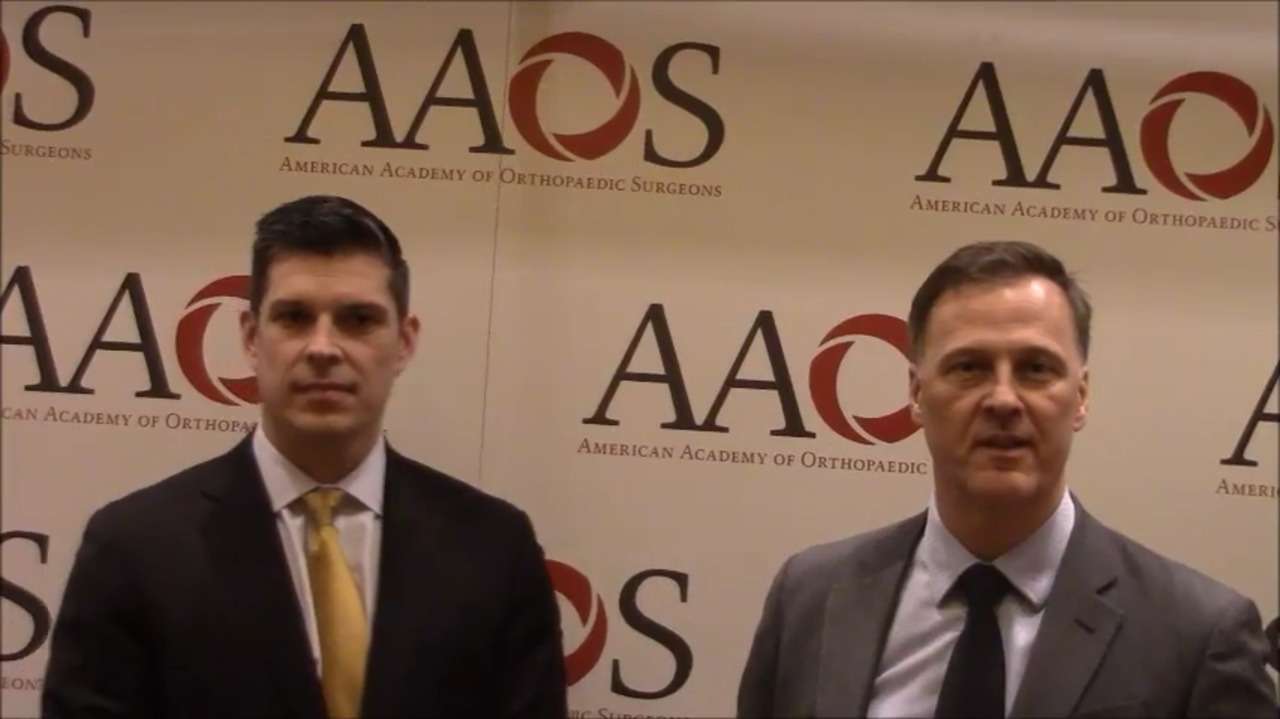 VIDEO: Presenters discuss upcoming drug trial of treatment for PJI with local antibiotic irrigation