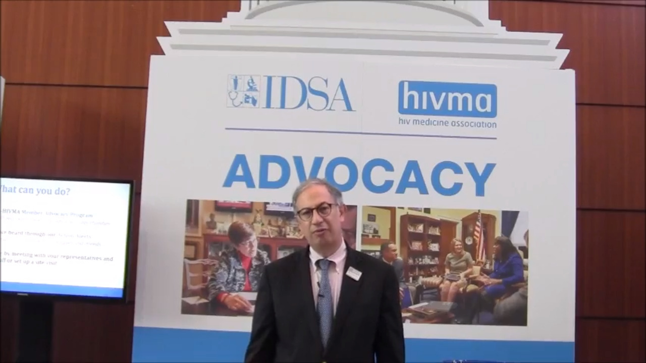 VIDEO: Experts spend 'a day on the Hill' during IDWeek