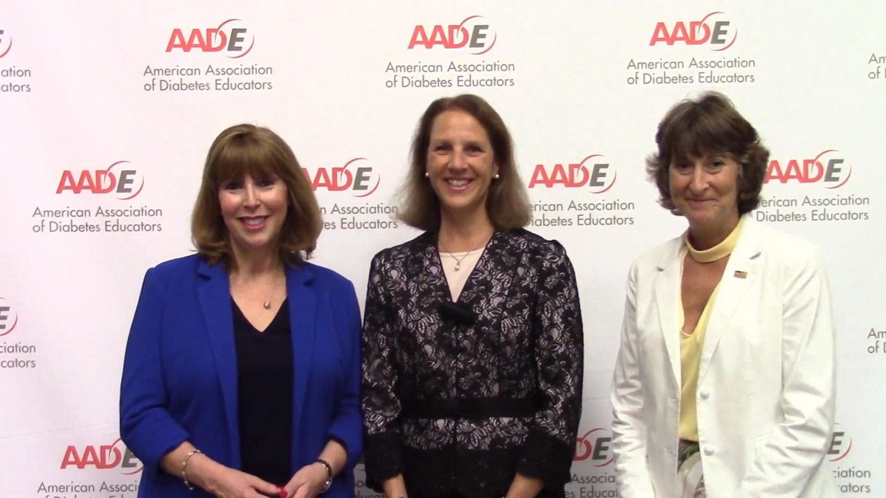 VIDEO: Name changes, updated competencies in the works for AADE, diabetes educators