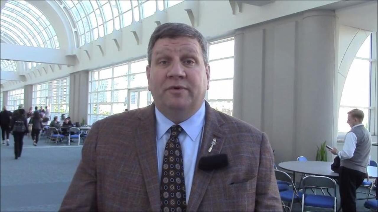 VIDEO: Adalimumab appears effective in non-radiographic axial spondyloarthropathy